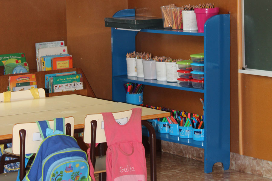Instalacions aula infantil