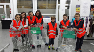 Els alumnes de Voluntariat participen en el Gran Recapte