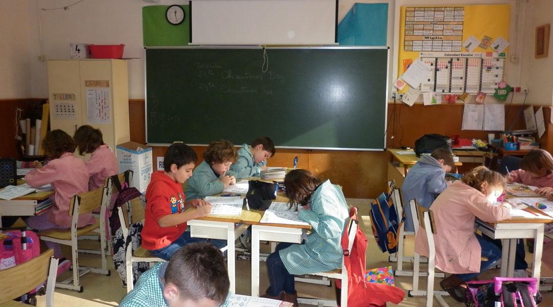 aula primaria escola el cim