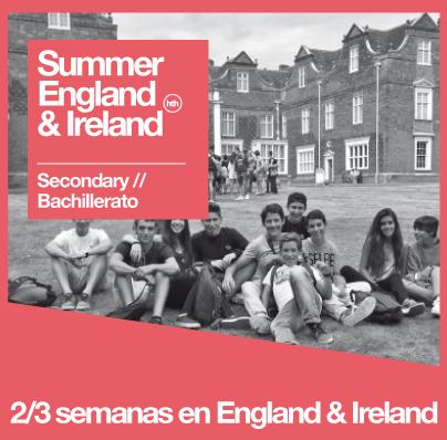 Summer  England & Ireland