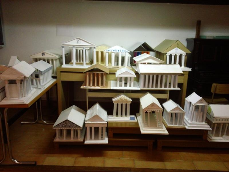 Fem temples grecs