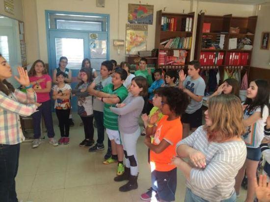Els alumnes de 5è anem a Cantània!