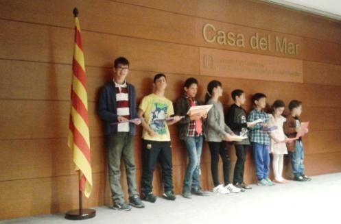 Dos alumnes de l'USEE d'ESO guanyadors dels Jocs Florals Escolars en la fase territorial (Barcelona comarques)