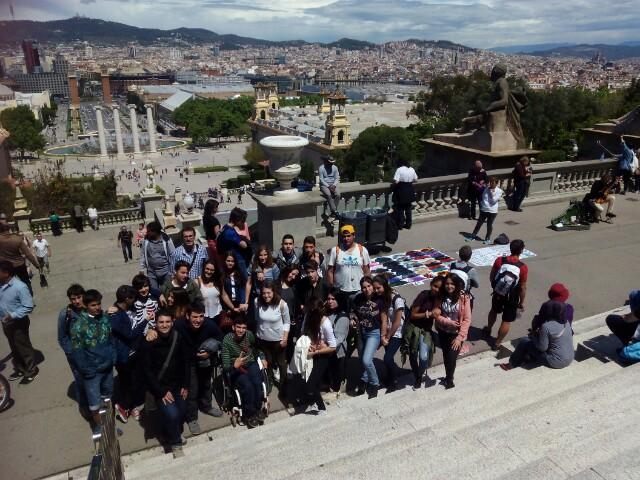 Els alumnes de 4t d'ESO visiten el Cosmocaixa i el MNAC