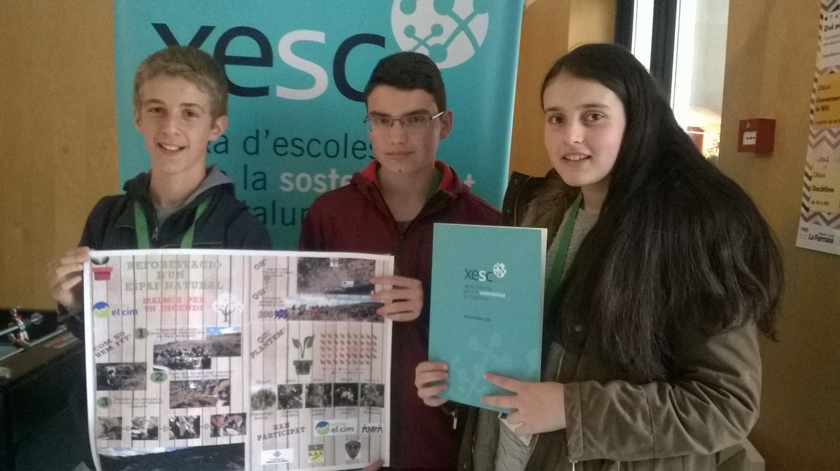 """Participació dels alumnes de l'ESO a la conferència """"Tinguem cura del planeta (CONFINT)"""""""