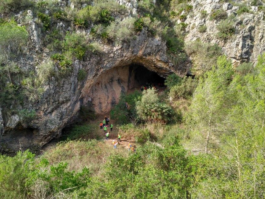Sortida Cova Can Muntaner al Parc del Garraf