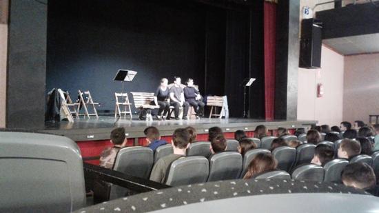 4t d'ESO al teatre: La plaça del Diamant