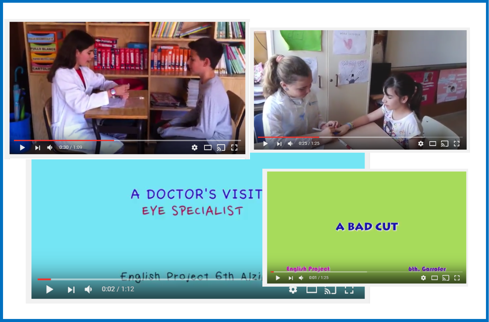 A VISIT TO THE DOCTOR6th grade Alzina and Garrofer