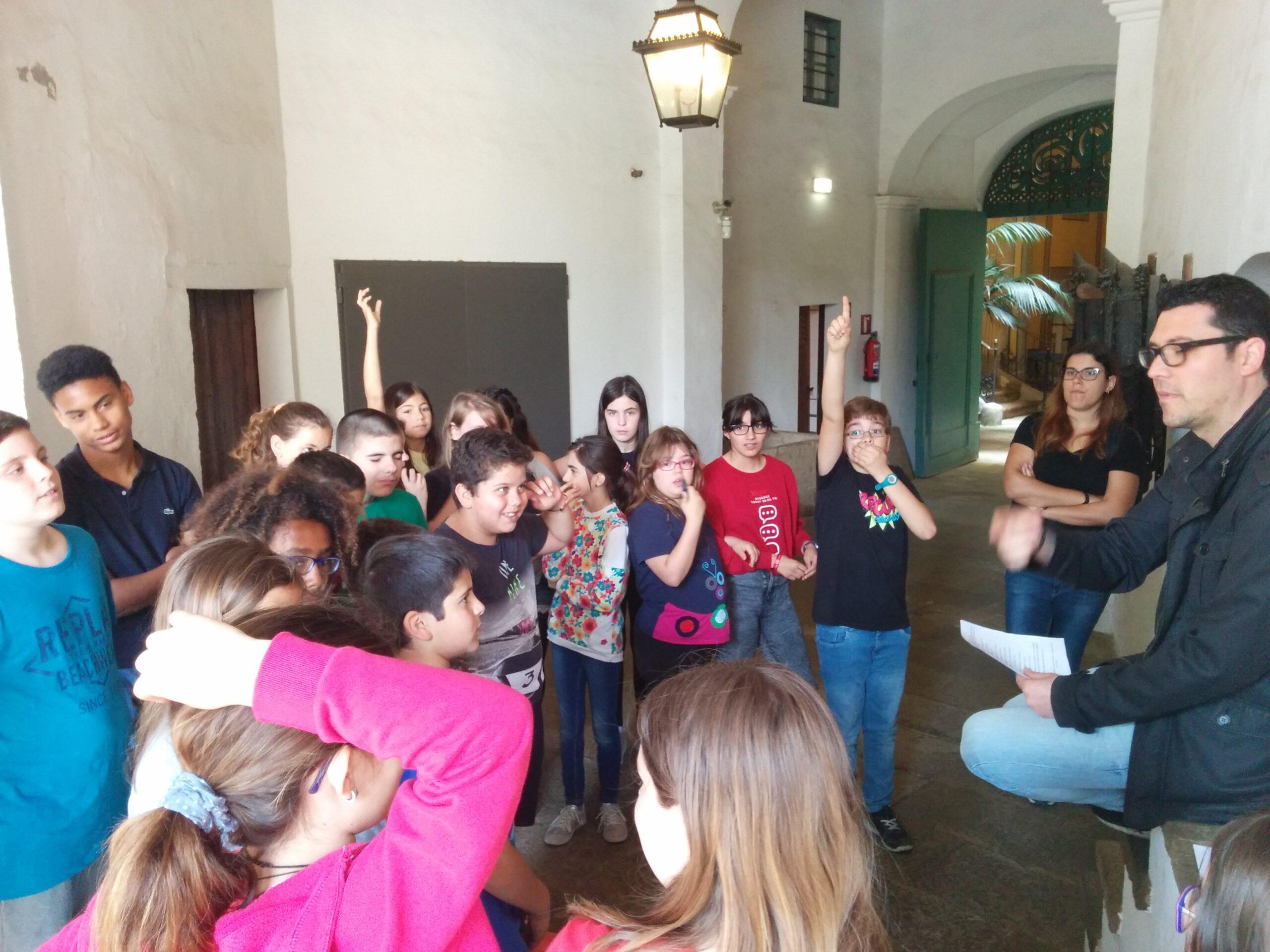 Els alumnes de 6è visiten CAN PAPIOL