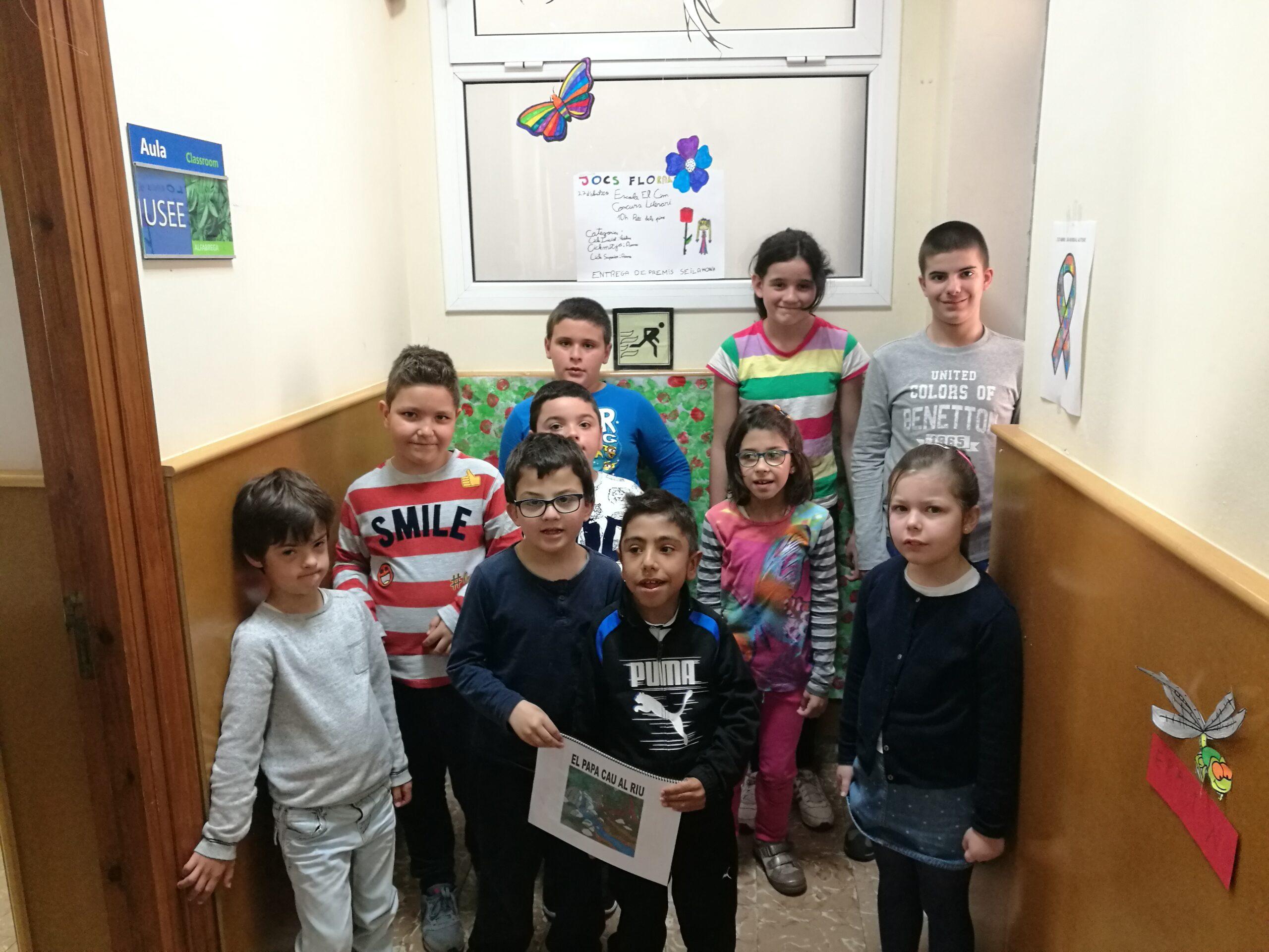 L'aula Alfàbrega participa en el 5è concurs Conte va! Va de contes!