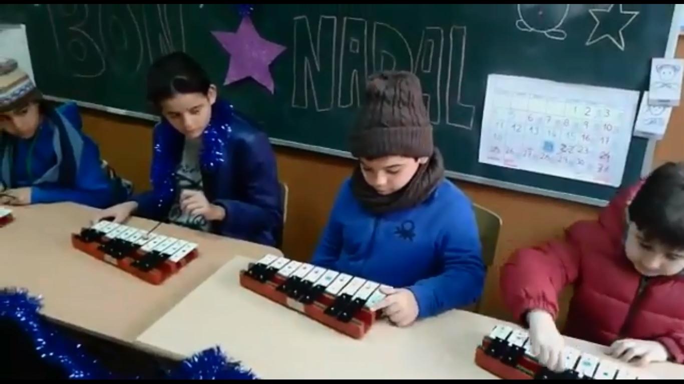 Nadala de la classe d'Alfàbrega-Nadal 2017