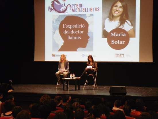 Trobada amb l'escriptora gallega Maria Solar