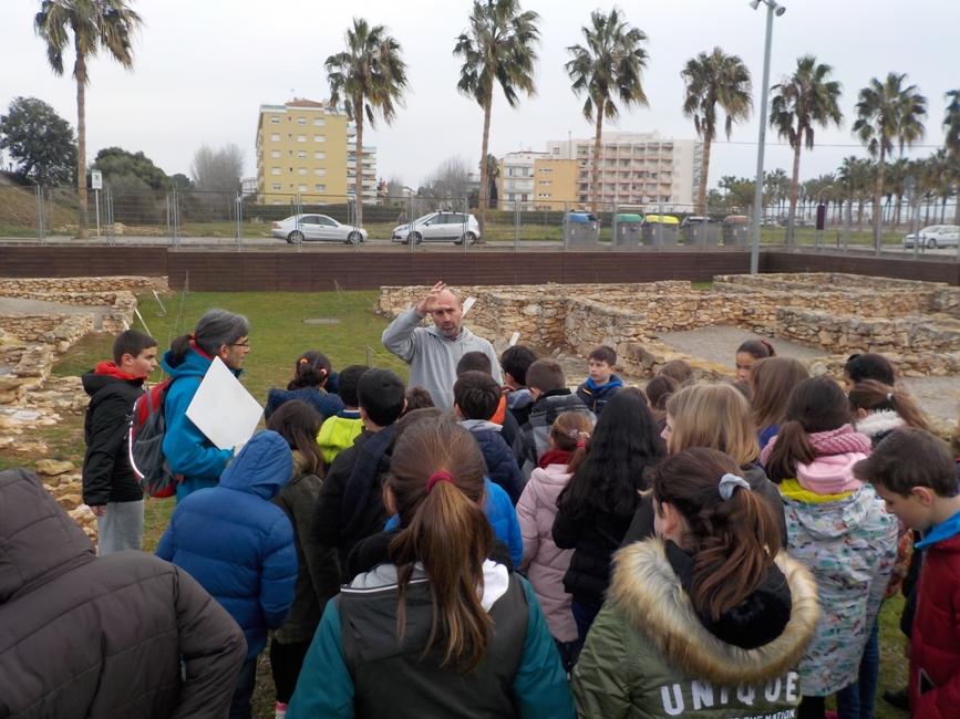 Visita al jaciment arqueològic de Darró