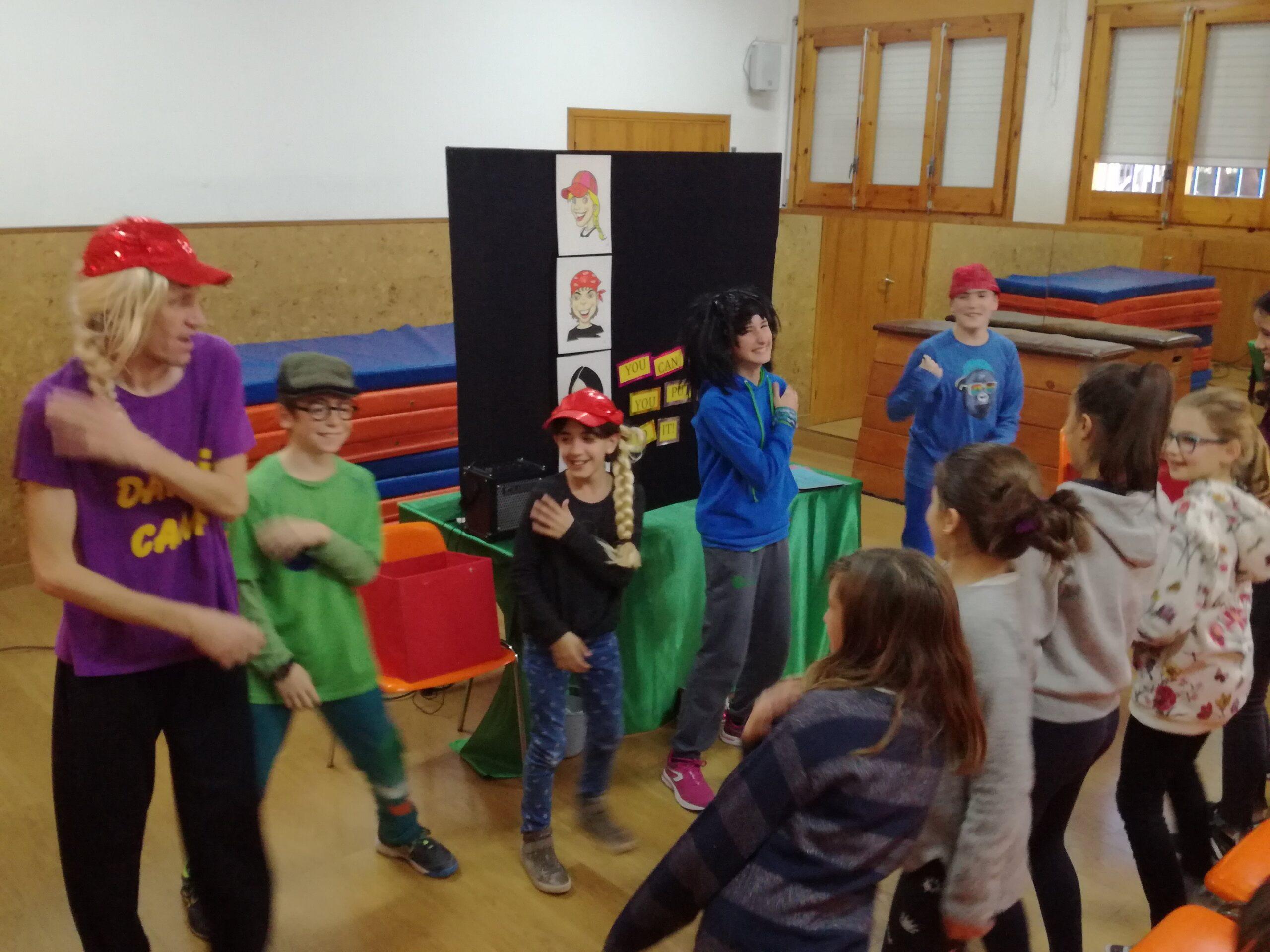 Teatre en anglès a infantil i primària