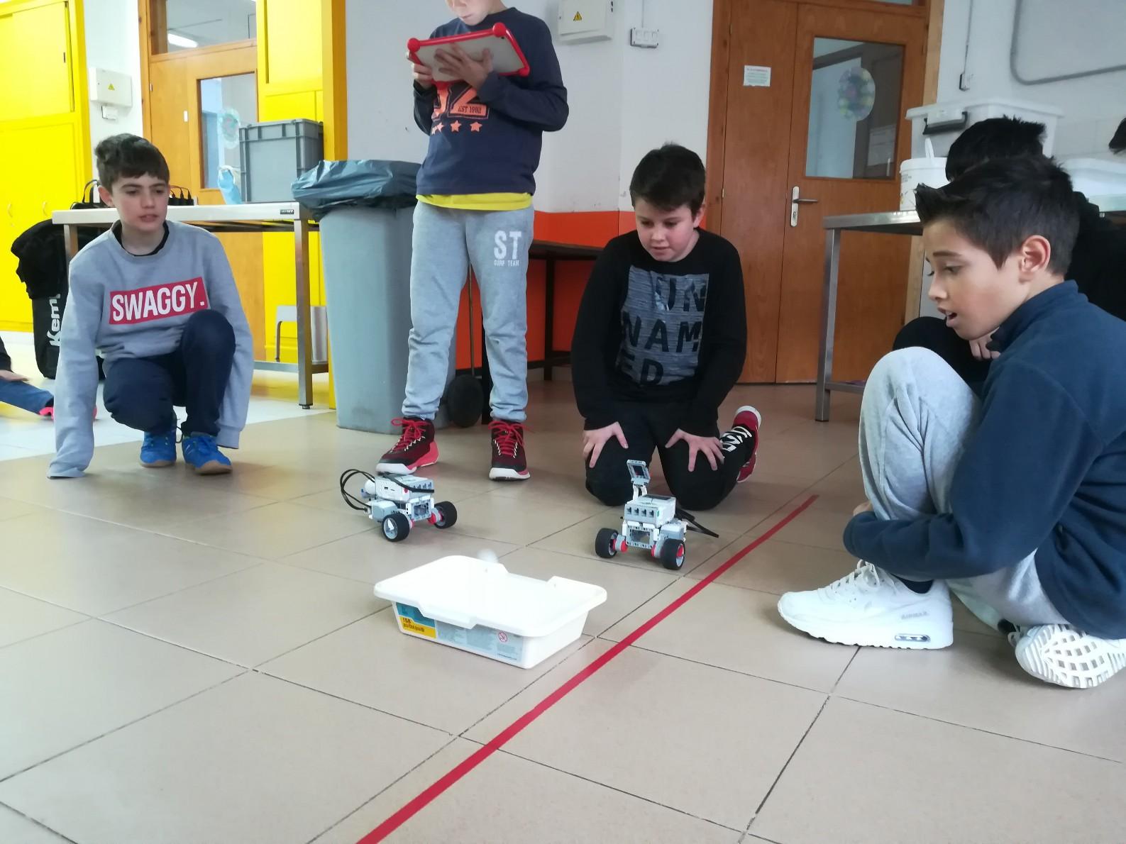 Taller de robòtica – 6è primària