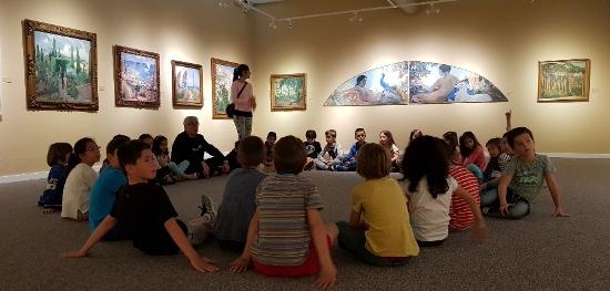 Visita al Museu Victor Balaguer dels alumnes de 2n