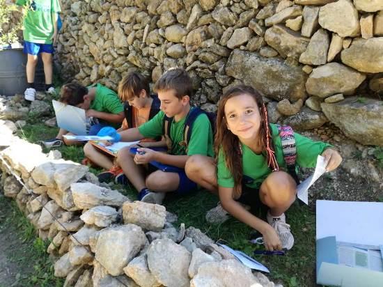 Excursió a l'Ortoll de 5è i 6è per Sant Vicenç