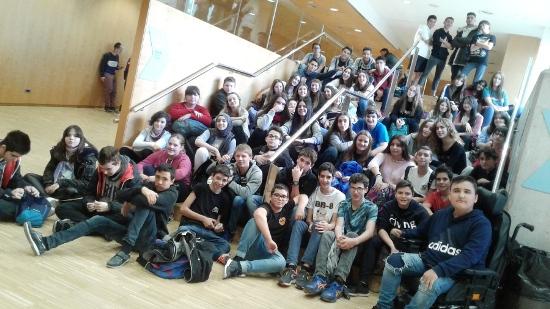 Els alumnes de 3r d'ESO visiten el Cosmocaixa (Barcelona)