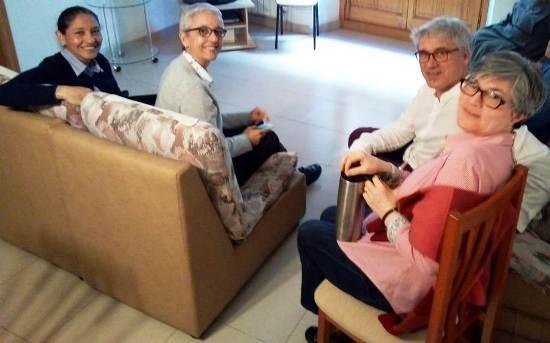 Visita de  l'Equip General de les Missioneres de la Immaculada Concepció