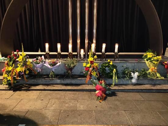 Acte de commemoració de l'Holocaust