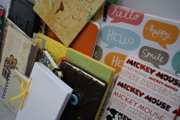 Les llibretes diaris del alumnes de 3r Olivera i 3r Dent de Lleó